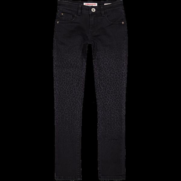Skinny Jeans Amia Leopard